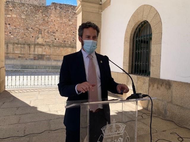El Ayuntamiento de Cáceres califica de muy grave la evolución de la pandemia en la ciudad y exige el cumplimiento estricto de las normas de seguridad