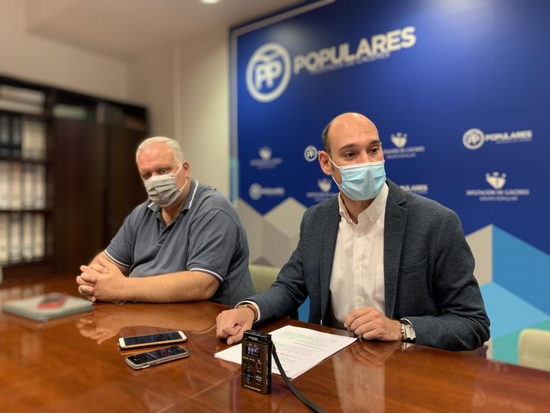 El PP denuncia nuevas irregularidades del PSOE en materia de personal en la Diputación de Cáceres