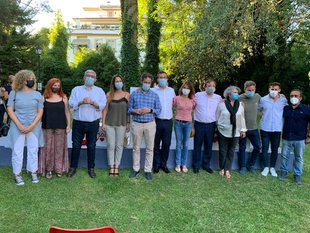 Vara asegura que Cáceres tiene alcalde para una larga temporada y vaticina años de prosperidad y pleno empleo para toda Extremadura