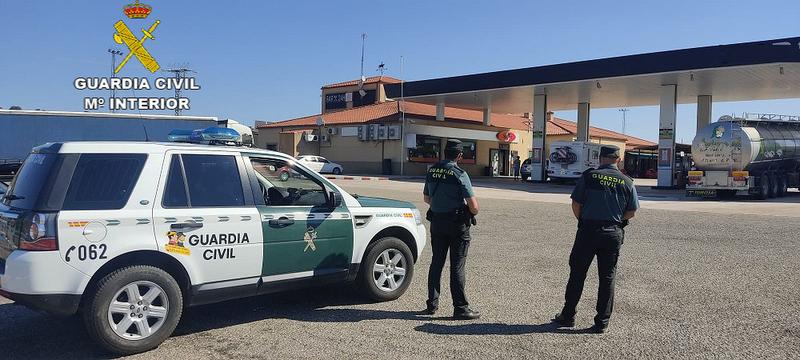 La Guardia Civil localiza a una persona con enfermedad mental escasas horas después de su desaparición