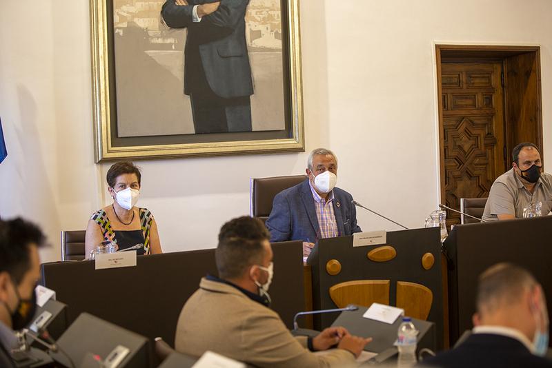 La Diputación aprueba más de 3,7M€ en inversiones destinadas a red viaria, medidas contra el despoblamiento o rehabilitaciones urgentes en municipios