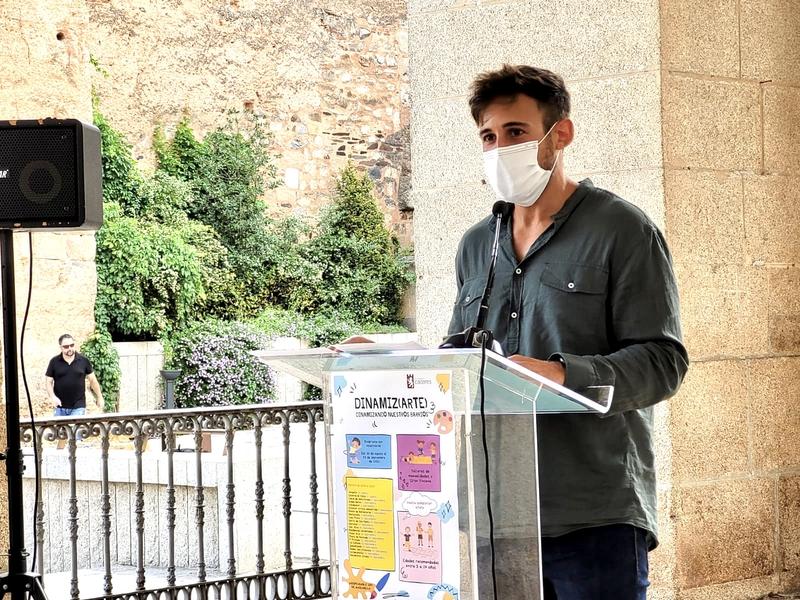 El Ayuntamiento de Cáceres llevará actividades culturales y lúdicas a 21 barrios de la ciudad y sus tres pedanías, a través de 'DINAMIZ (ARTE)'