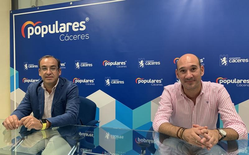 El PP de Cáceres anuncia una campaña de recogida de firmas contra la subida de impuestos del PSOE