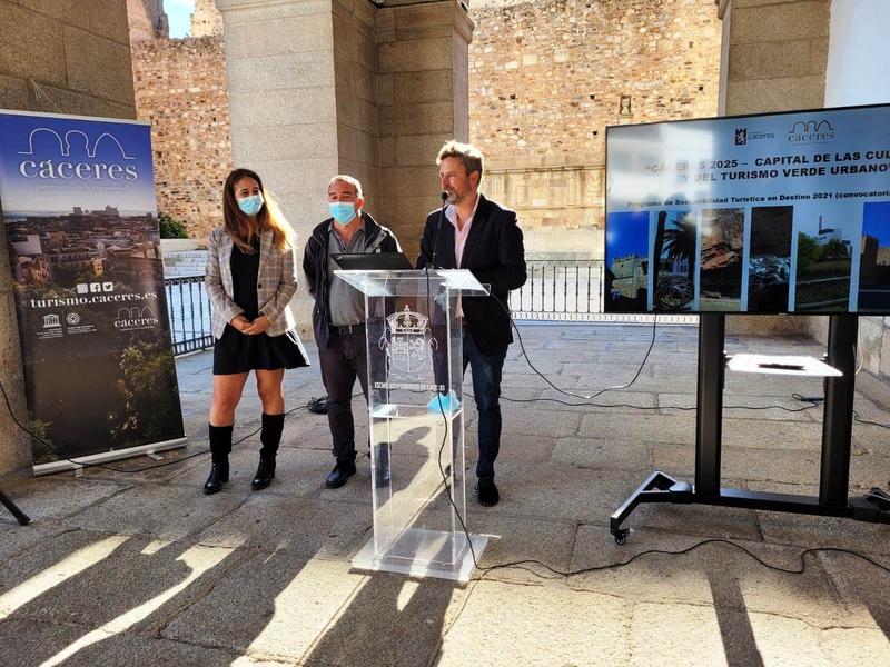 El ayuntamiento cacereño presenta al Ministerio de Transición un Plan de Sostenibilidad Turística con inversiones previstas de 6,31 millones de euros