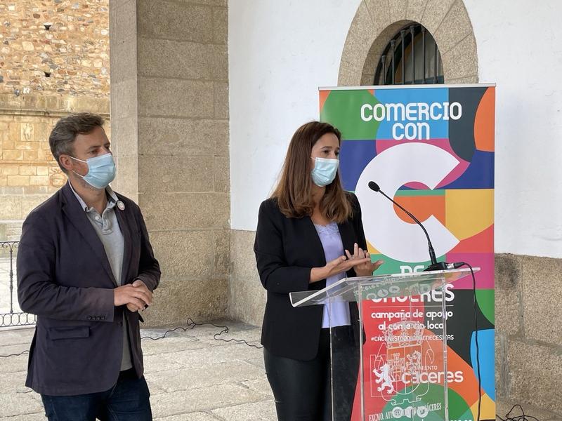 Cáceres quiere optar a 1,6 millones de euros del Plan de Recuperación para crear una gran zona comercial en la ciudad