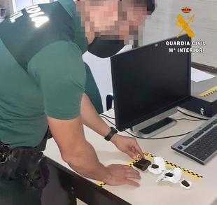 La Guardia Civil detiene e investiga a 4 personas por tráfico de drogas en Logrosán y Robledillo de Trujillo, en cuatro actuaciones diferentes