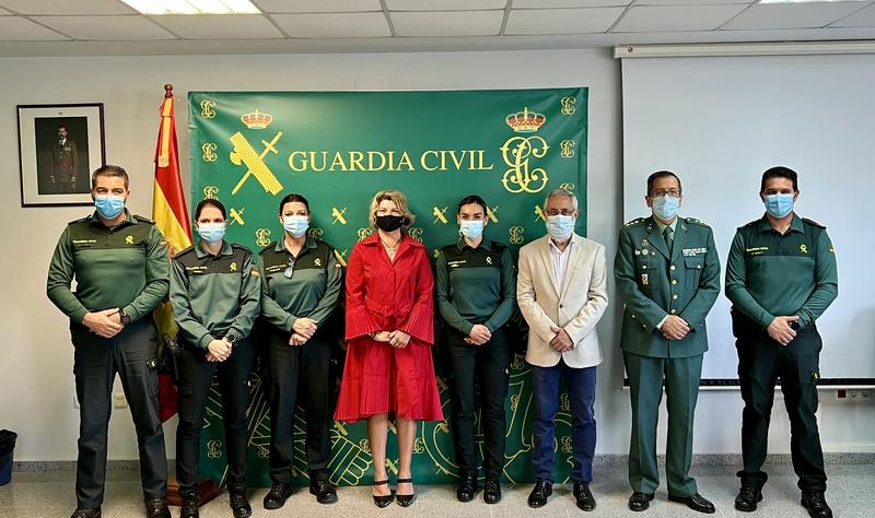 """La Comandancia de la Guardia Civil de Cáceres ya cuenta con un """"Equipo @"""" de prevención y respuesta en materia de ciberdelincuencia"""